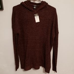 NWT Knitted Hooded Sweater